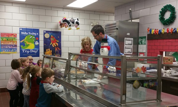 Celebrity Chef @ Grant's Lick Elementary