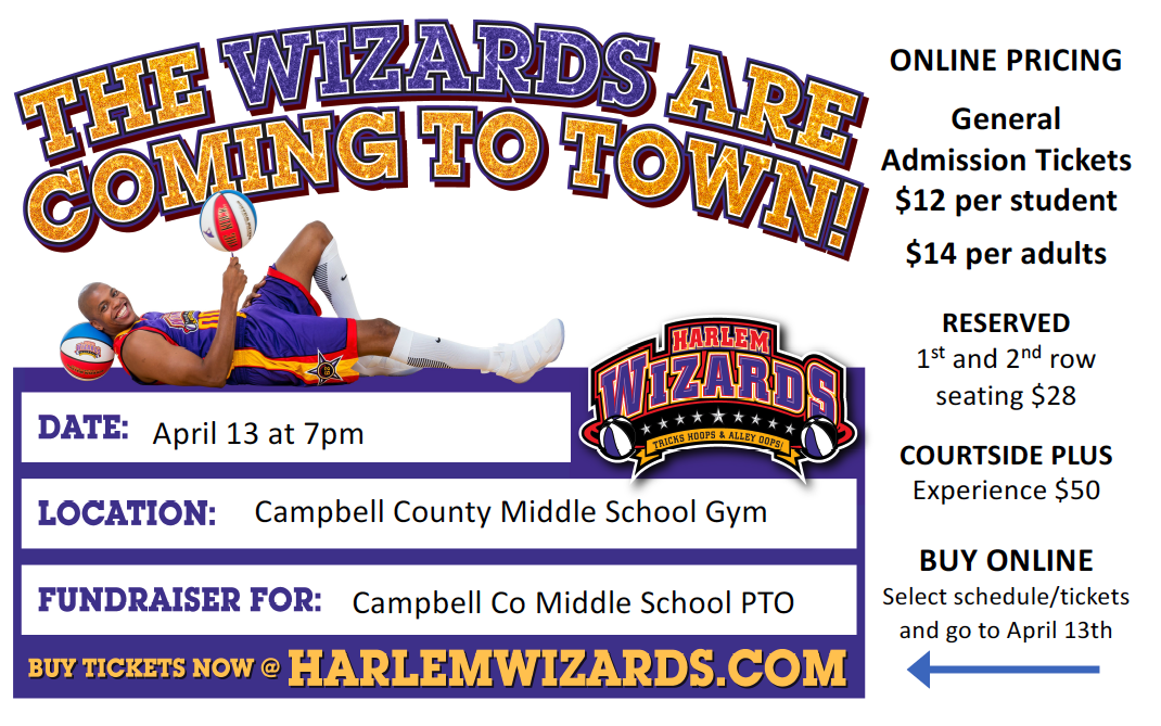 Harlem Wizards - April 13 at 7pm