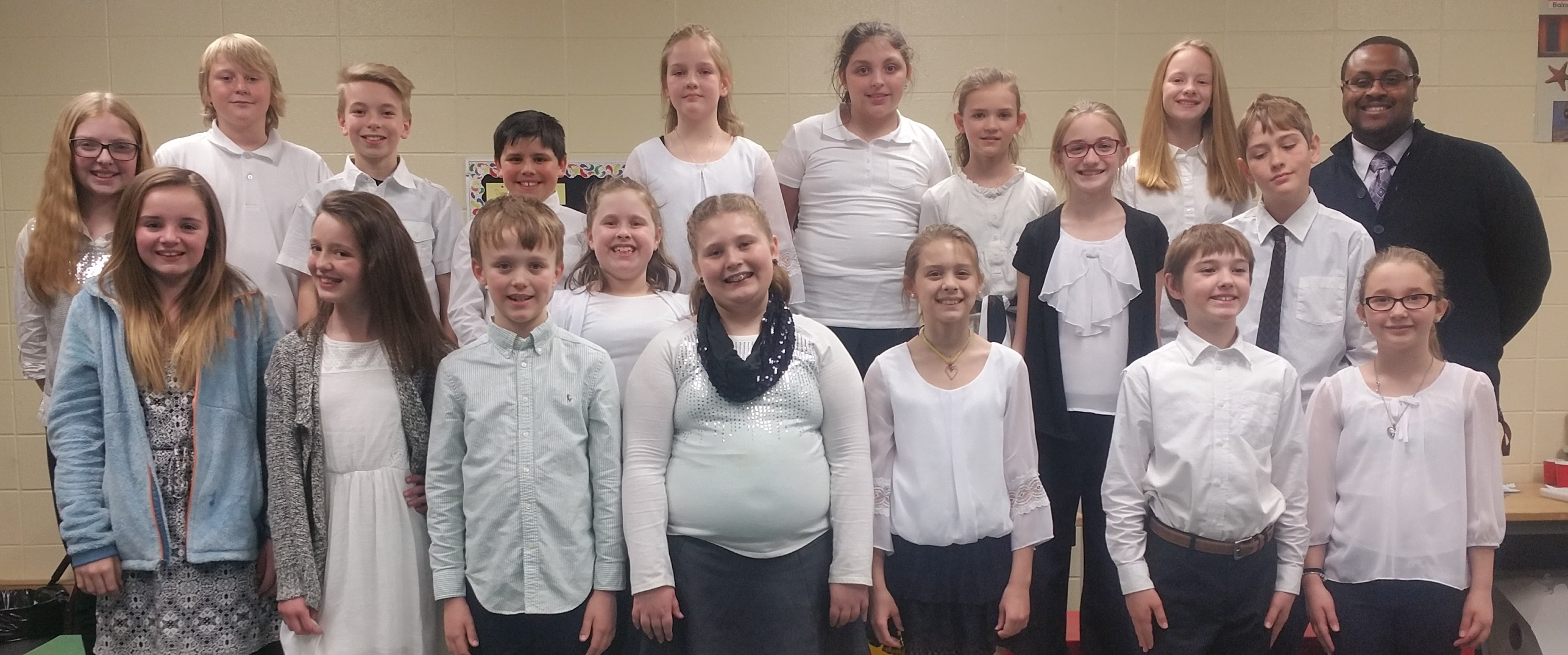 Reiley Elementary Chorus Receives Distinguished Rating