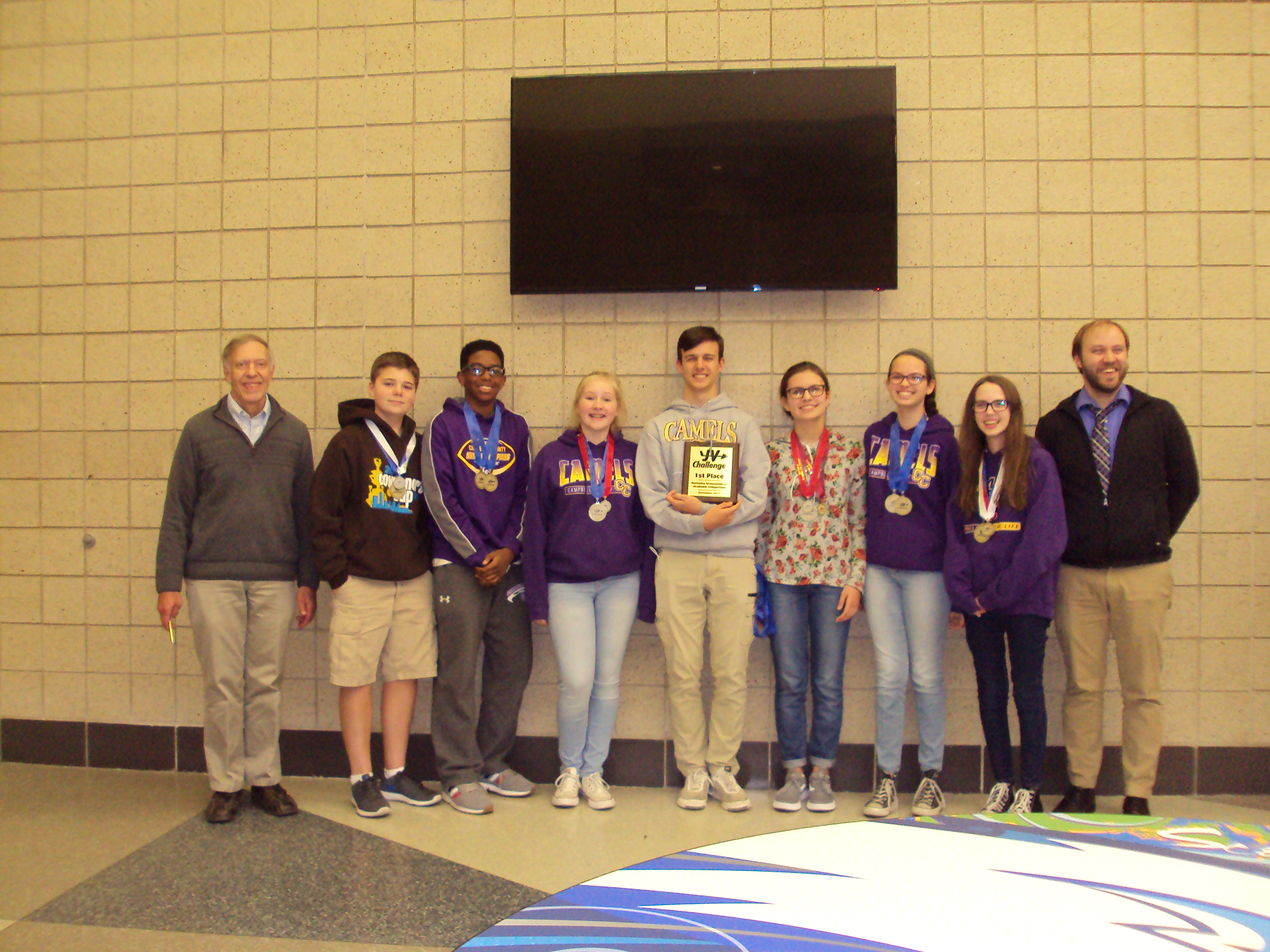 CCHS JV Academic Team