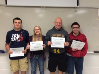 CCHS Students Place 1st in State in National Economic Challenge