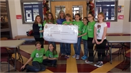 Crossroad Coyotes Raise $500 for Children's Hospital Child Life Center