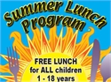 SUMMER FOOD PROGRAM ANNOUNCED