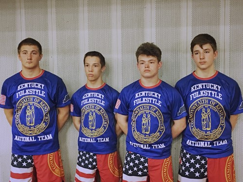 Wrestlers at Nationals - Campbell County Schools
