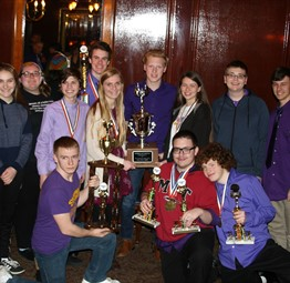 The Academic Team won the State Championship!