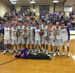 CCHS Boys Basketball Team is District Champ!