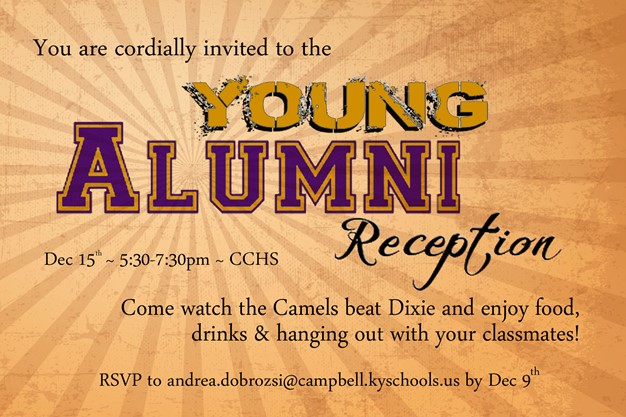 News campbell county high school young alumni reception posted on friday november 18 2016 fandeluxe Choice Image